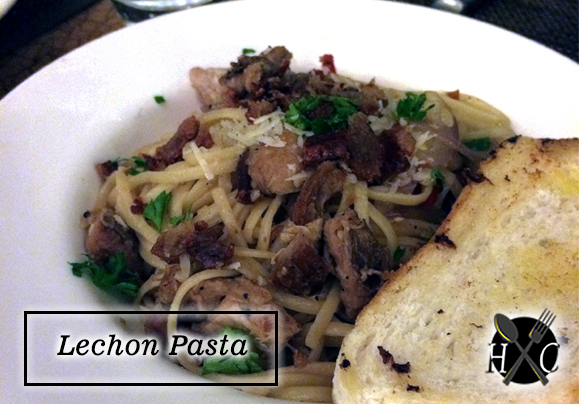 Lechon Pasta