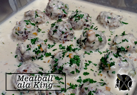 Meatball Ala King