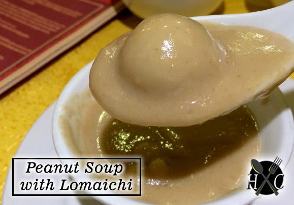 Peanut Soup with Lomaichi at A Taste of Mandarin Cebu