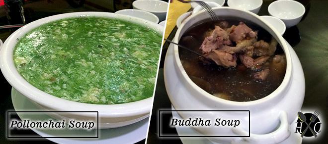 Pollonchai Soup & Buddha Soup at A Taste of Mandarin Cebu