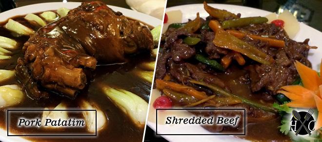 Pork Patatim & Shredded Beef at A Taste of Mandarin Cebu