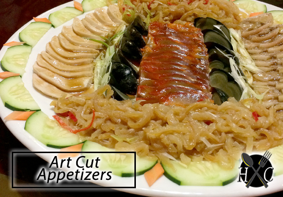 Art Cut Appetizers - New White Gold House Cebu