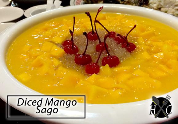 Diced Mango Sago - New White Gold House Cebu