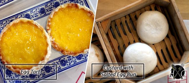 Egg Tart - Custard with Salted Egg Bun