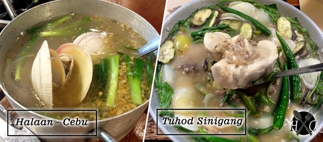 Halaan Cebu & Tuhod Sinigang at Seafood & Ribs Warehouse, SM Seaside City Cebu